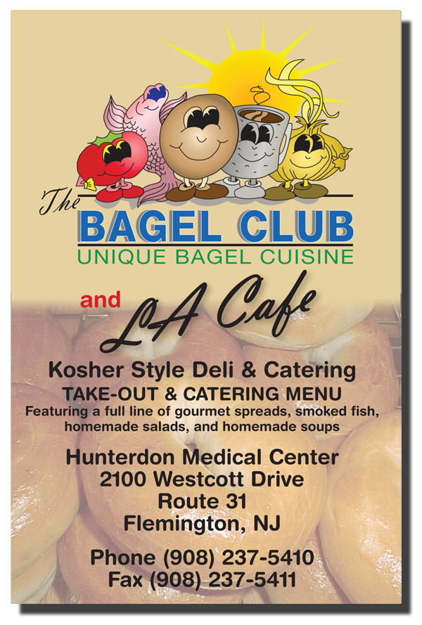 Bagel Cafe Menu